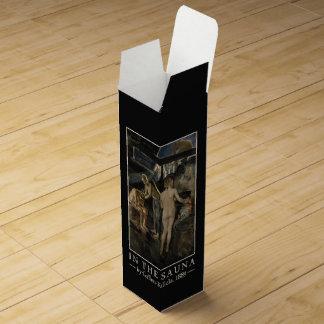 Gallen-Kallela's Sauna custom wine gift box