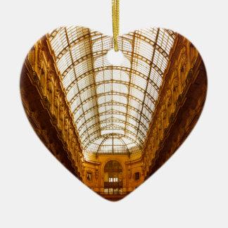 Galleria Vittorio Emanuele II In Milan Ceramic Ornament
