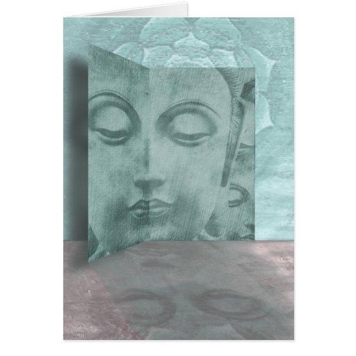 Gallery Buddha Greeting Card