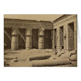 Gallery in second court of Thutmose I at Medinet Card