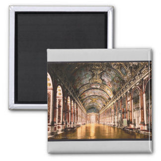 Gallery of Mirrors, Versailles, France vintage Pho Magnet