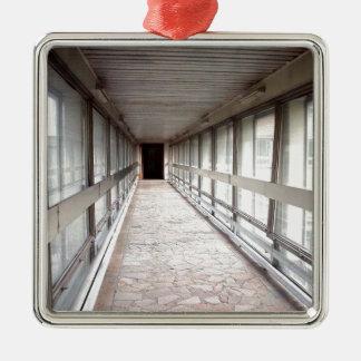 gallery Silver-Colored square ornament