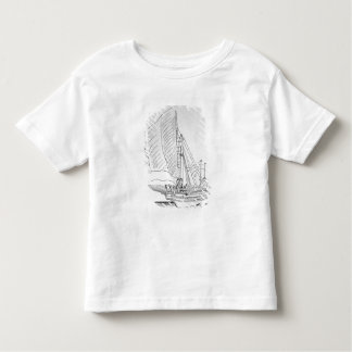 Galley of the 16th century t shirts