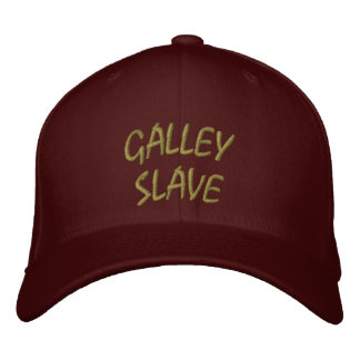 Galley Slave Hat Embroidered Baseball Caps