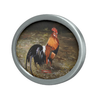Gallic rooster//Rooster Belt Buckles
