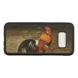 Gallic rooster//Rooster Carved Samsung Galaxy S8 Case