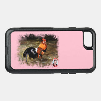 Gallic rooster//Rooster OtterBox Commuter iPhone 8/7 Case