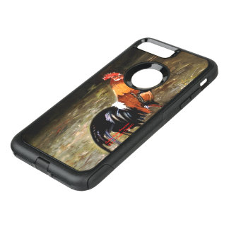 Gallic rooster//Rooster OtterBox Commuter iPhone 8 Plus/7 Plus Case