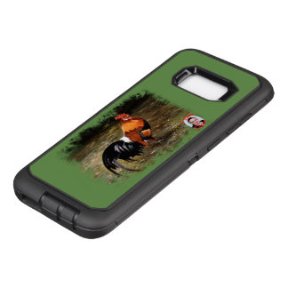 Gallic rooster//Rooster OtterBox Defender Samsung Galaxy S8+ Case