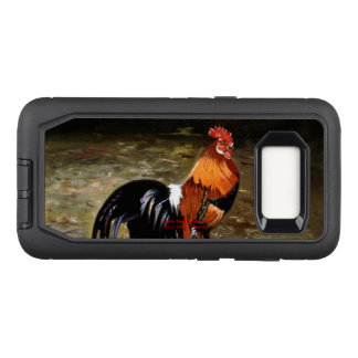 Gallic rooster//Rooster OtterBox Defender Samsung Galaxy S8 Case