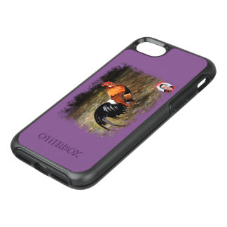 Gallic rooster//Rooster OtterBox Symmetry iPhone 8/7 Case