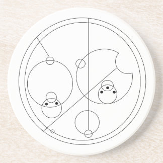Gallifreyan I Love You Coaster