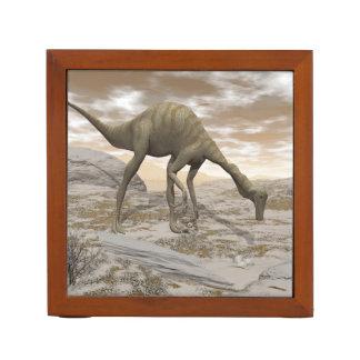 Gallimimus dinosaur - 3D render Desk Organizer