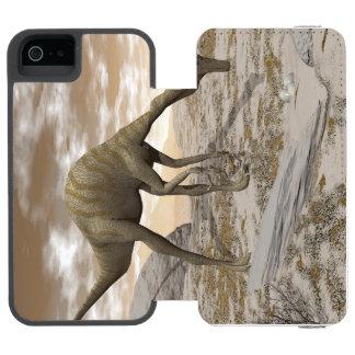 Gallimimus dinosaur - 3D render Incipio Watson™ iPhone 5 Wallet Case