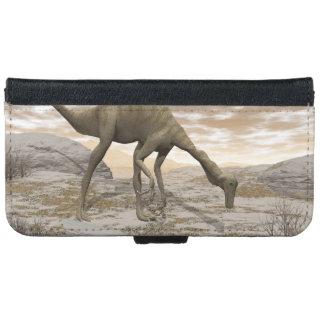 Gallimimus dinosaur - 3D render iPhone 6 Wallet Case