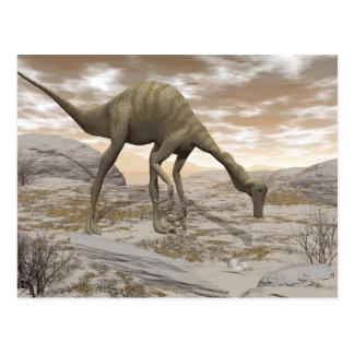 Gallimimus dinosaur - 3D render Postcard