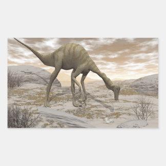 Gallimimus dinosaur - 3D render Sticker