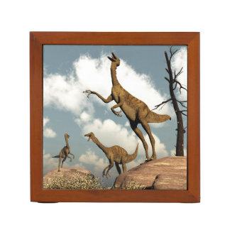 Gallimimus dinosaurs - 3D render Desk Organizer
