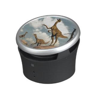 Gallimimus dinosaurs - 3D render Speaker