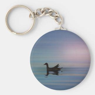 Gallinule Smooth Keychain