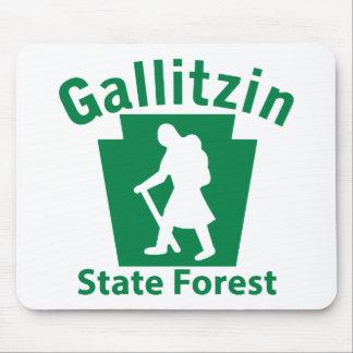 Gallitzin SF Hike (female) Mouse Pad