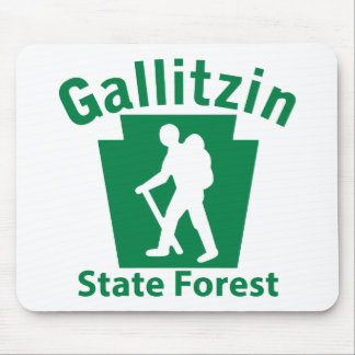 Gallitzin SF Hike (male) Mouse Pad