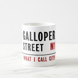 Galloper Street Coffee Mug