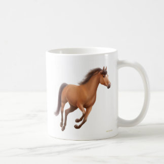 Galloping Bay Gelding Mug
