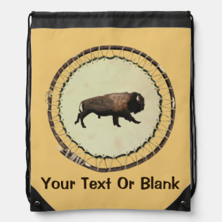 Galloping Bison Cinch Bags