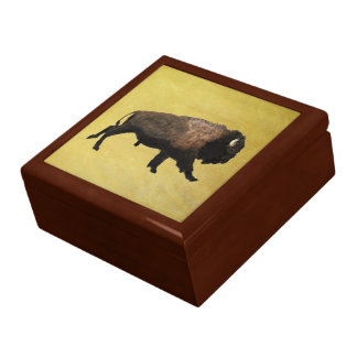 Galloping Bison Gift Box