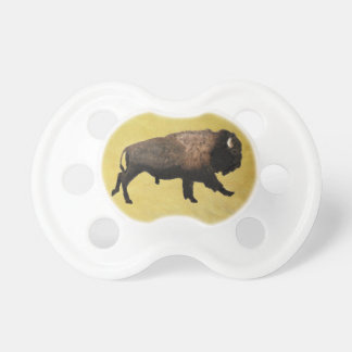 Galloping Bison Pacifier