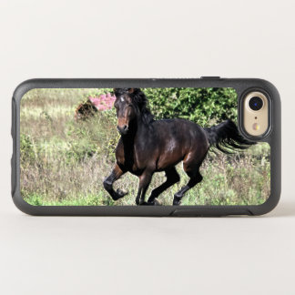 Galloping Chestnut Horse OtterBox Symmetry iPhone 8/7 Case