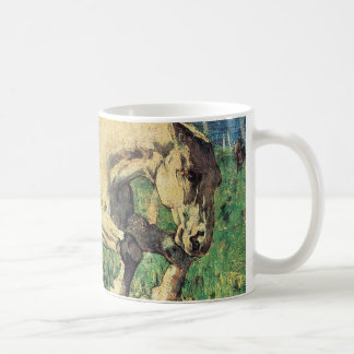 Galloping Horse by Giovanni Segantini, Vintage Art Coffee Mug
