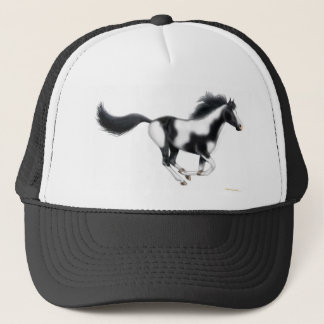 Galloping Paint Horse Trucker Hat