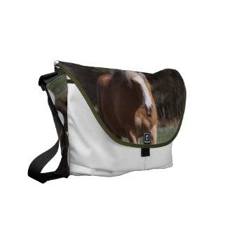 Galloping Palomino Messenger Bag