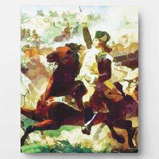 Galloping Patriot Plaque