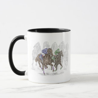 Galloping Race Horses Mug
