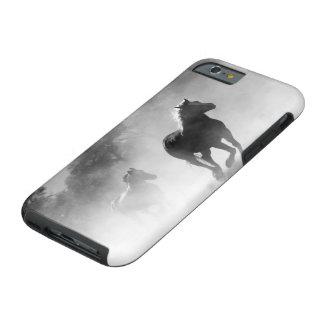 Galloping Wild Horse Print Tough iPhone 6 Case