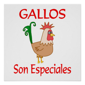 Gallos Son Especiales Poster