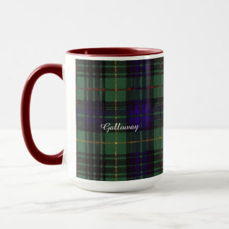Galloway clan Plaid Scottish kilt tartan Mug
