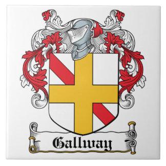 Gallway Family Crest Tile