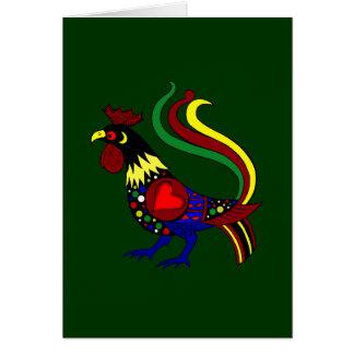 Galo de Barcelos - Camisas e presentes Card