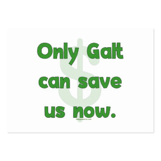 Galt Save Us Large Business Card