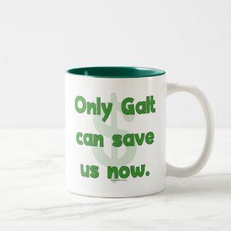Galt Save Us Two-Tone Coffee Mug