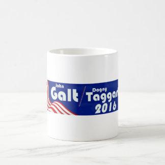 Galt/Taggert - Atlas is Shrugging Coffee Mug