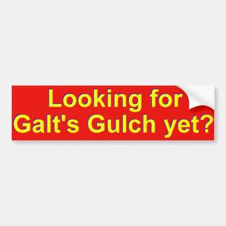 Galt's Gulch bumper sticker