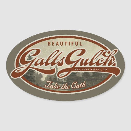 Galt's Gulch Sticker Set