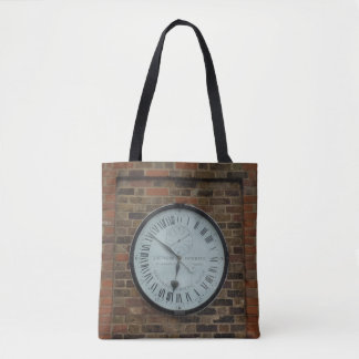 Galvanomagnetic Clock Tote Bag