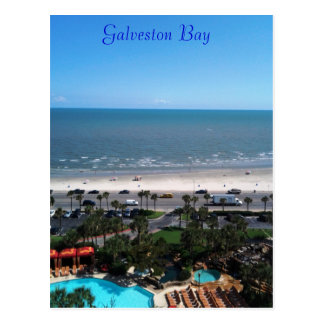 Galveston Bay Postcard