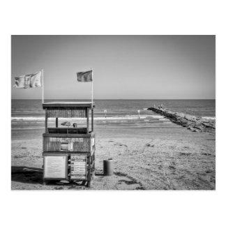 Galveston Beach Postcard